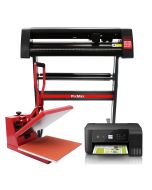 PixMax 38cm Clam Heat Press, Vinyl Cutter, Printer