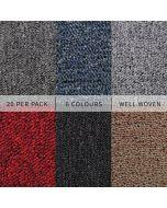 Carpet Tiles | Multiple Colours
