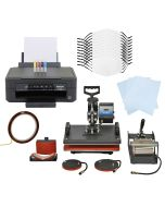 10 Sublimation Face Masks, 5 in 1 Heat Press & Epson Printer