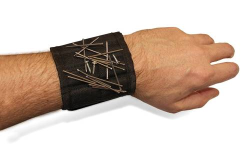 Magnetic DIY Wristband For Nails & Screws