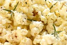 Rosemary and parmesan popcorn