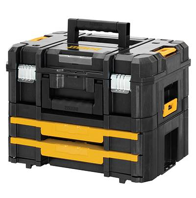 Stackable Black Tool Box