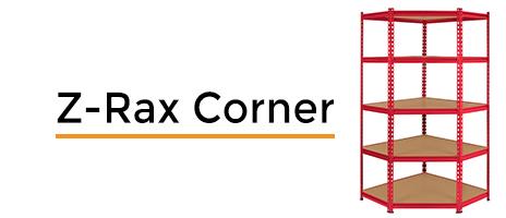 Z-Rax Corner Shelving