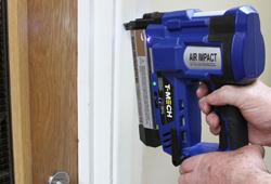 T-Mech Nail Gun In Use.